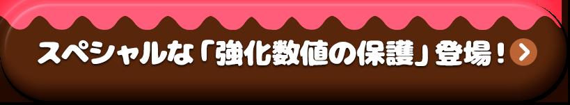 スペシャルな「強化数値の保護」登場!