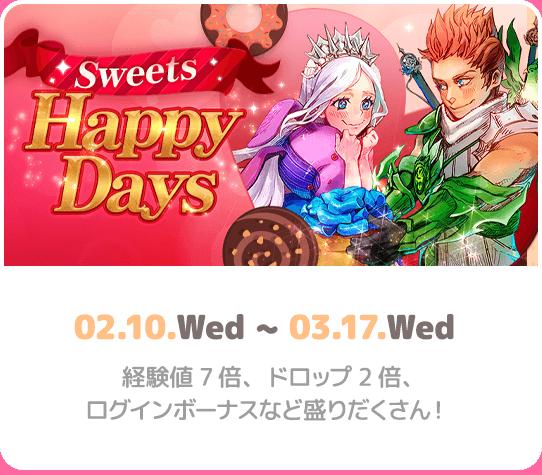 Sweets Happy Days