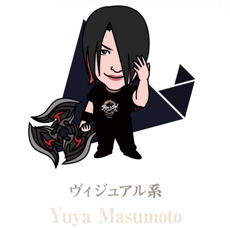 ヴィジュアル系 - Yuya Masumoto
