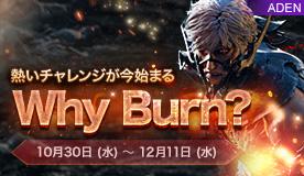 why burn