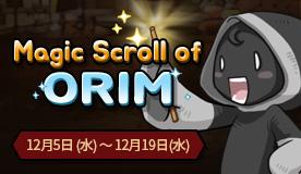 Magic Scroll of ORIM