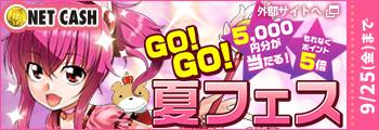 NET CASH GO!GO!夏フェス