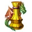 ドラゴンの研磨剤 1個